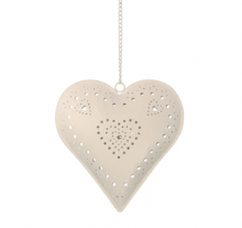 Sass & Belle - Hanging heart tea light holder